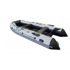 Riverboats RB-370 килевая, с фанерным пайолом со стрингерами - моторная надувная лодка ПВХ