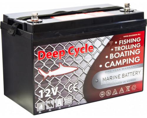 Тяговый аккумулятор для лодочного электромотора Marine Deep Cycle AGM 100Ah 12V