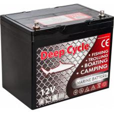 Тяговый аккумулятор для лодочного электромотора Marine Deep Cycle AGM 75Ah 12V