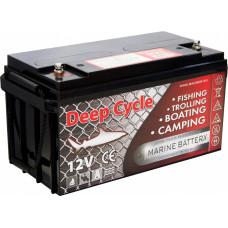 Тяговый аккумулятор для лодочного электромотора Marine Deep Cycle GEL 80Ah 12V