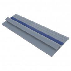 Лента PVC 80 мм на борт лодки (Серый/Синий)
