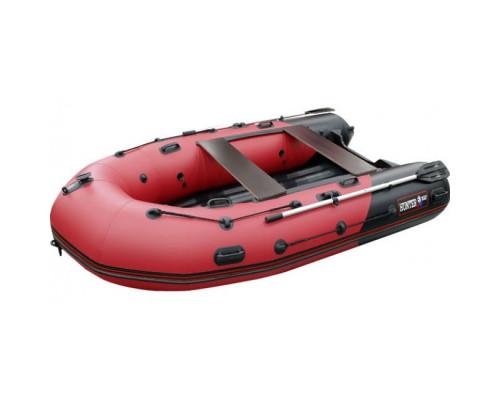 Хантер 330 ПРО (НДНД) с умеренно-килеватым надувным дном низкого давления - моторная надувная лодка ПВХ