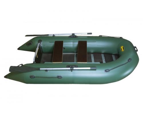 Инзер моторная 280V см, Ø 40, со сплошным полом, килевая, надувная лодка ПВХ