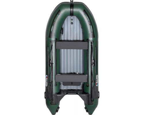 Лодка Smarine AIR MAX-380 с надувным дном низкого давления (НДНД) - моторная надувная лодка ПВХ