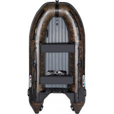 Лодка Smarine AIR MAX-380 Камуфляж с надувным дном низкого давления (НДНД) - моторная надувная лодка ПВХ