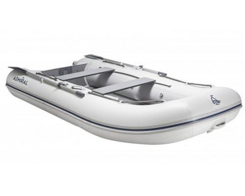 Адмирал 270 килевая, с фанерным пайолом - моторная надувная лодка ПВХ