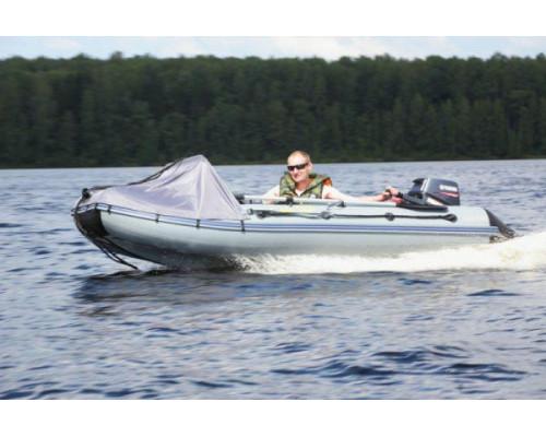 Адмирал 305 Classic Lux с расширенной комплектацией, фанерным пайолом, килевая - моторная надувная лодка ПВХ