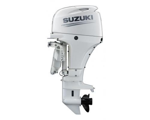 Suzuki DF60ATS (L,X), белый - 4х-тактный лодочный мотор