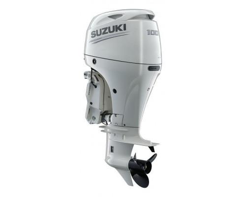 Suzuki DF100BTL (X), белый - 4х-тактный лодочный мотор