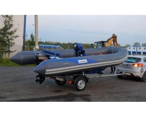 Адмирал RIB 500 - классический RIB - жёстко-надувная моторная лодка