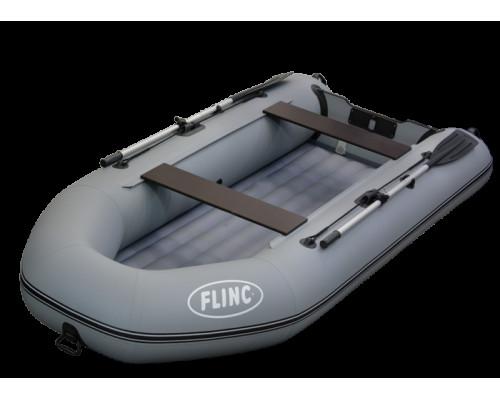 FLINC FT320A (НДНД) килевая, с надувным дном низкого давления - моторная надувная лодка ПВХ