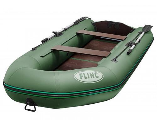FLINC FT320L с фанерным полом-книжкой - моторная надувная лодка ПВХ