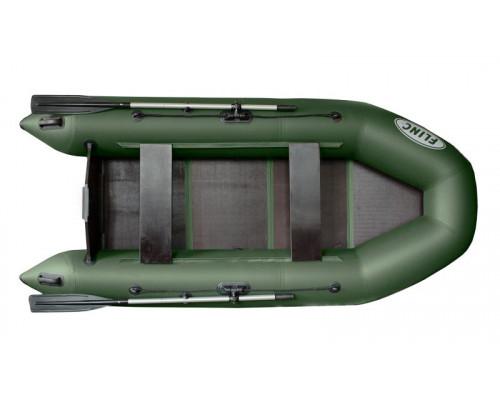 FLINC FT290L с фанерным полом-книжкой - моторная надувная лодка ПВХ