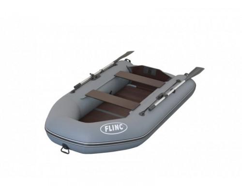 FLINC FT260L с фанерным полом-книжкой - моторная надувная лодка ПВХ
