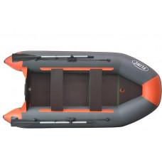 FLINC FT320K килевая, с фанерным полом-книжкой со стрингерами - моторная надувная лодка ПВХ