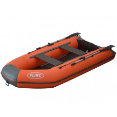 FLINC FT340K килевая, с фанерным полом-книжкой со стрингерами - моторная надувная лодка ПВХ