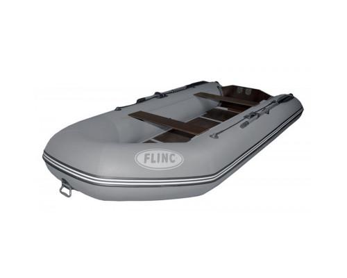 FLINC FT360L с фанерным полом-книжкой со стрингерами - моторная надувная лодка ПВХ