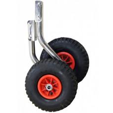 Транцевые колеса на лодку (110 - 140 кг.)
