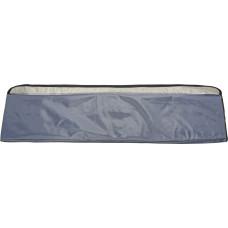Мягкая накладка на сиденье лодки (110*20 см), серая