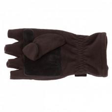 Перчатки с откидным верхом для рыбалки,черные