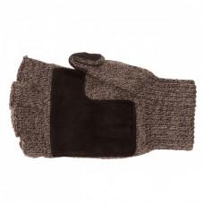 Перчатки с откидным верхом для рыбалки,темно-серые