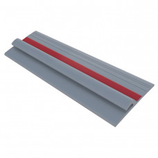 Лента PVC 80 мм на борт лодки (Серый/Красный)