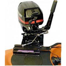 Электрическое поворотное устройство лодочного мотора