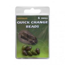 Бусины с коннектором DRENNAN Quick Change Beads / 6шт.