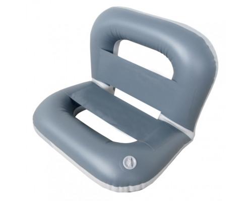 Кресло надувное №2 72х65х65 см (Серый)