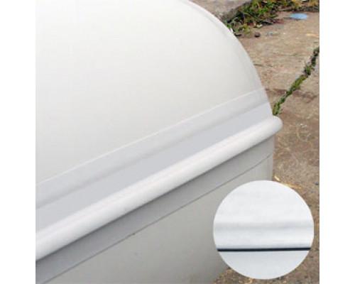Лента PVC 80 мм на борт лодки (Серый)