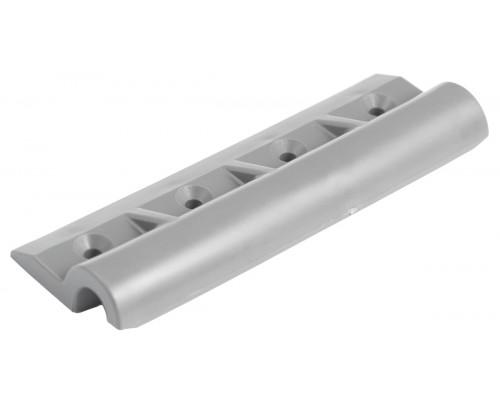 Уголок крепления сиденья пластиковый (передвижной) - 4 отв (Серый)
