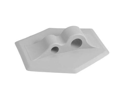 Крепление лееров безопасности PVC (Серый)