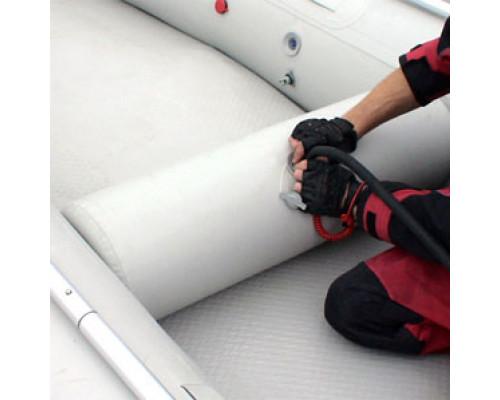 """Надувное сиденье в лодку """"цилиндр"""" (72х27 см) (Серый)"""