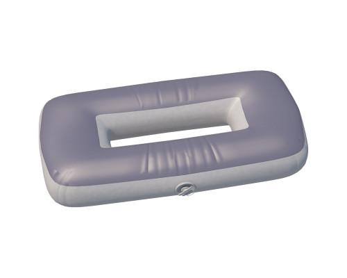 """Сиденье надувное """"овал"""" №2 74х44х20 см (Серый)"""