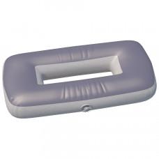 """Сиденье надувное """"овал"""" №3 85х43х20 см (Серый)"""