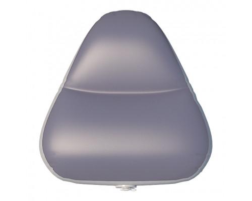 Надувное сиденье в нос лодки №1 49х52х30 см (Серый)