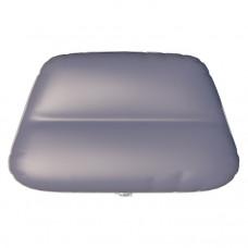 Надувное сиденье в нос лодки №4 72х48х29 см (Серый)