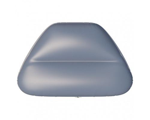 Надувное сиденье в нос лодки №5 80х47х29 см (Серый)