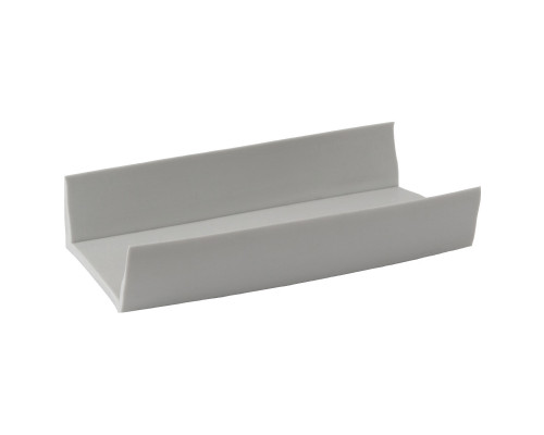 Профиль PVC на транец лодки - 35 мм, (Серый)