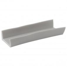 Профиль PVC на транец лодки - 25 мм (Серый)