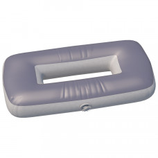 """Сиденье надувное """"овал"""" №1 66х44х20 см (Серый)"""