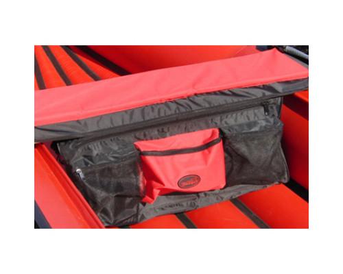 Сумка на сиденье 105 см (Красный/Черный)