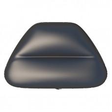 Надувное сиденье в нос лодки №5 80х47х29 см (Черный)