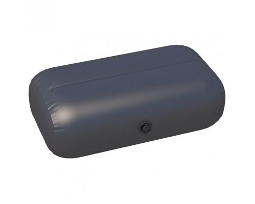 Надувное сиденье с перегородкой №1 67х46х36 см (Черный)