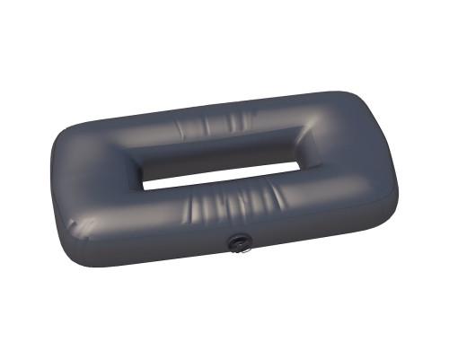 """Сиденье надувное """"овал"""" №3 85х43х20 см (Черный)"""