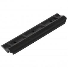 Уголок крепления сиденья пластиковый (передвижной) (Черный)