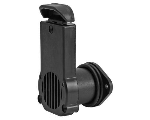 Сливной клапан NEW 34-40мм (Черный)