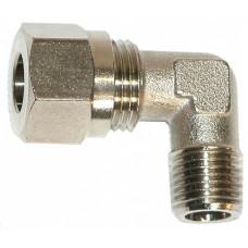 Фитинг помпы 90 градусов 1/4 - 10 мм