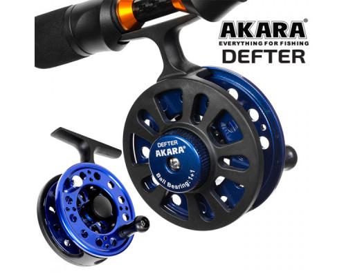 Катушка проводочная для зимней рыбалки Akara Defter 1+1bb