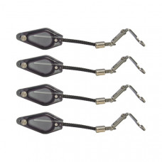 Комплект индикаторов поклевки Carp Sounder Dropstar DR200 Hanger Mini Diamond Black 4 шт.